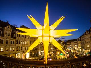 Weihnachtsmarkt Zittau Stern