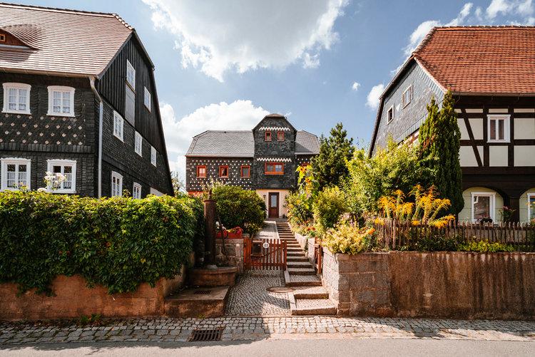 Umgebindehaus Obercunnersdorf Richard Bohn