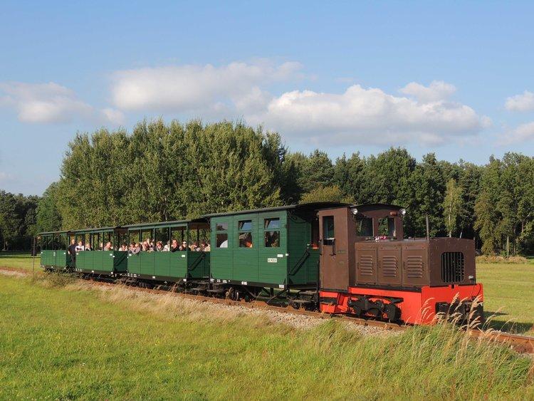 Mit der Waldeisenbahn in den Herbst