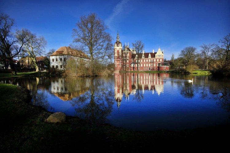 Neues Schloss im Muskauer Park Wolfgang Wittchen