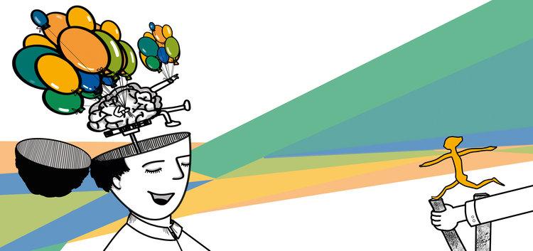 Illustration Wirtschaftstag Liane Hoder Himbeerspecht