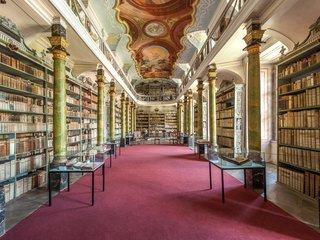 Broumov Braunau Klaster Broumov historicka knihovna