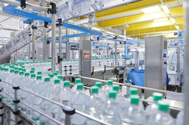 Produktionsstrasse Oppacher Oppacher Mineralquellen GmbH Co. KG
