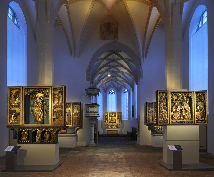 Kamenz Klosterkirche und Sakralmuseum St Annen Dietmar Traeupmann Augustusburg Staedtische Sammlungen Kamenz