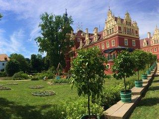 Altes und neues Schloss Bad Muskau