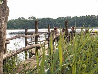 Heide und Teichlandschaft