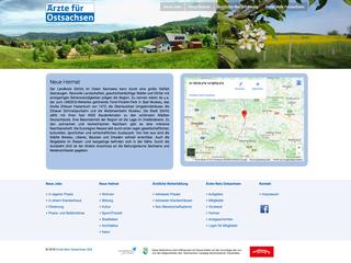 Verlinkung Webseite Aerzte fuer Sachsen